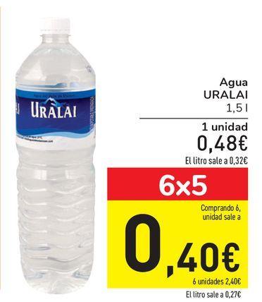 Oferta de Agua URALAI por 0,48€