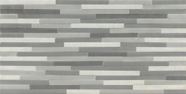 Oferta de Revestimiento cerámico blackpool 25x50 cm decorado gris ARTENS por 13,65€