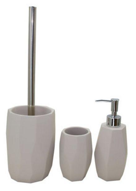 Oferta de Set accesorios Cement gris por 31,3€