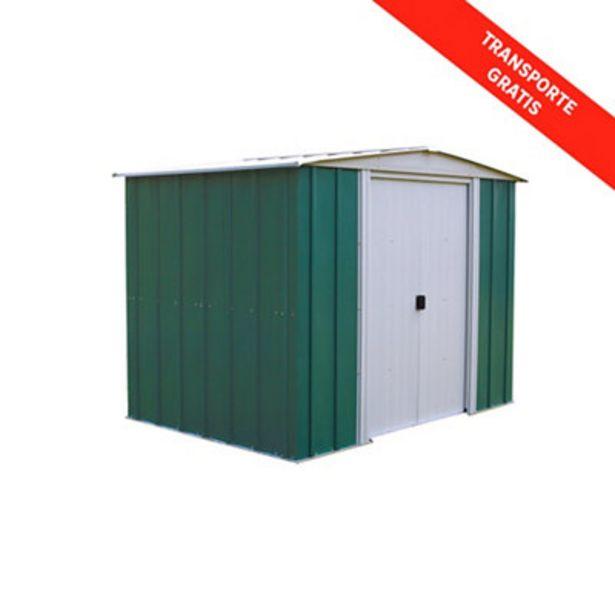 Oferta de Caseta de acero de 4,58 m2 de superficie total por 320€