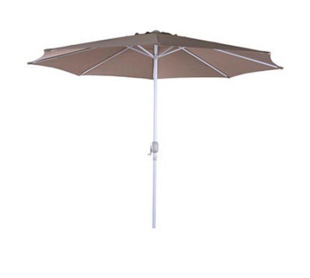 Oferta de Parasol BELICE 3M beige por 50,89€