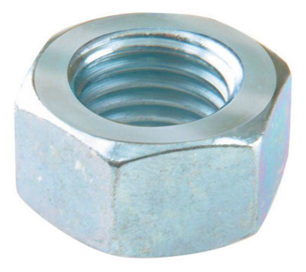 Oferta de 30 tuerca hexagonal de acero cincado por 1,3€
