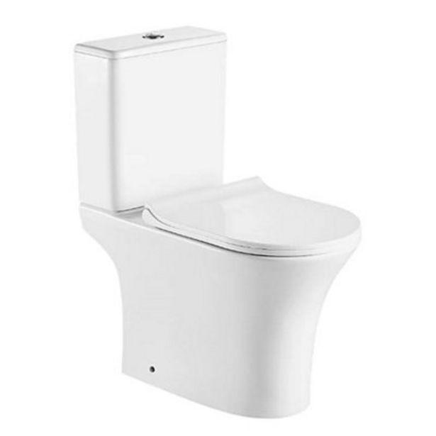 Oferta de Pack WC  Viena salida vertical con tapa amortiguada por 169,9€