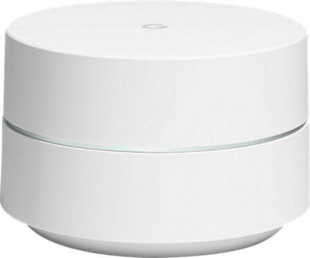 Oferta de Repetidor GOOGLE WiFi 1 por 101,6€