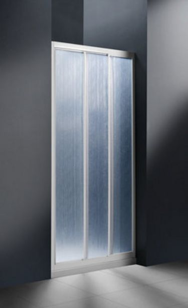Oferta de Mampara frontal MITTO 185x90 cm por 78€