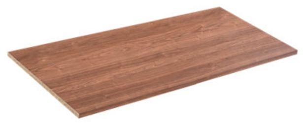 Oferta de Balda armario Serie One nogal 1.6x100x50cm por 12,99€