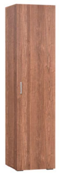 Oferta de Armario ropero puerta abatible One Nogal 50x200x50 cm por 45,99€