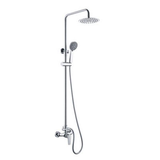 Oferta de Conjunto de ducha monomando TENERIFE cromo brillo por 119€