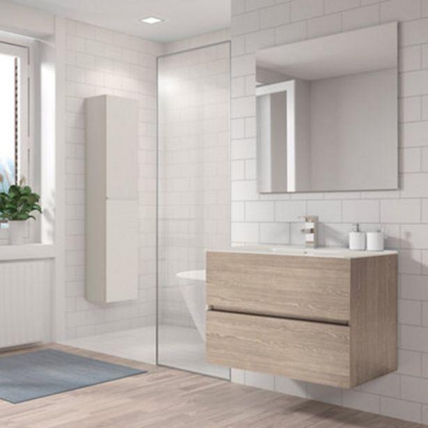 Oferta de Mueble de baño con lavabo Belice  80x45 cm por 165€