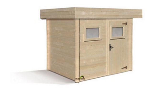Oferta de Caseta de madera MIKKI 6,32M2 por 1079,19€