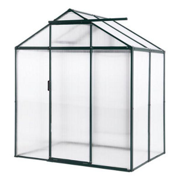 Oferta de Invernadero de metálico 184x213x129 cm por 371,99€