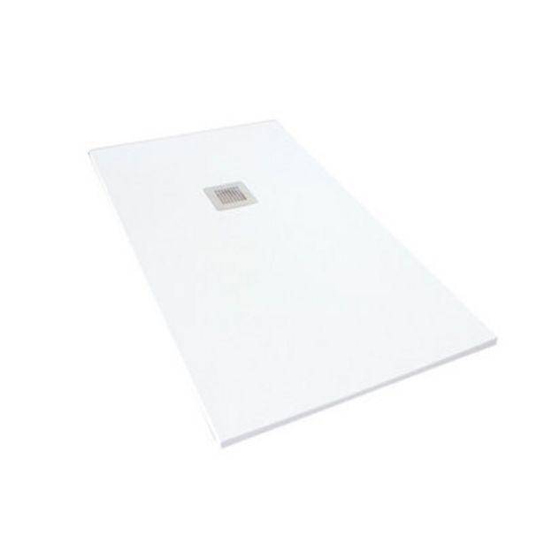 Oferta de Plato de ducha Moon 140x80 cm blanco por 189,1€
