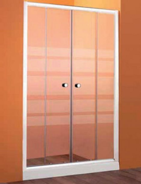 Oferta de Mampara frontal POKAK 185x120 cm por 123,2€