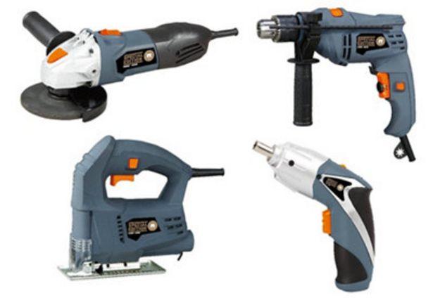Oferta de Kit de herramientas eléctricas 4 PIEZAS por 93,9€