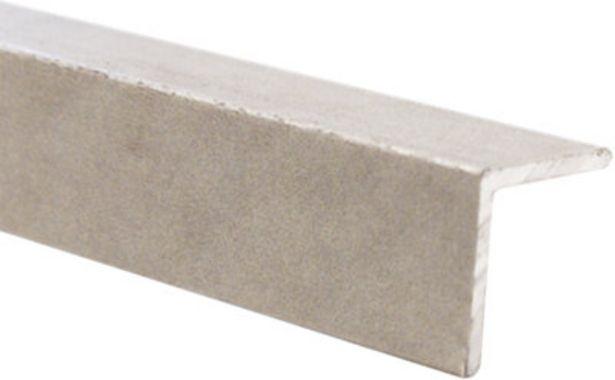 Oferta de Perfil de aluminio beige de 2,7 m por 12,99€