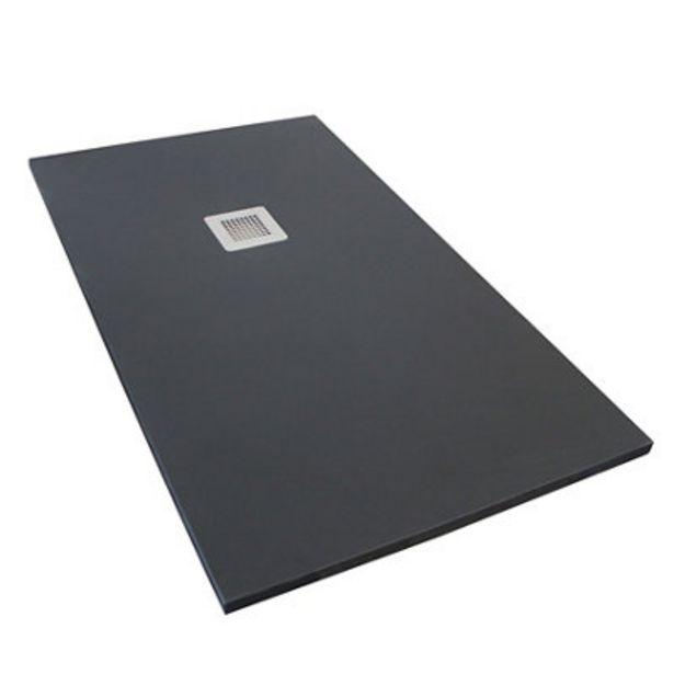 Oferta de Plato de ducha PDAGUA ANTRACITA 70x100 cm por 149€