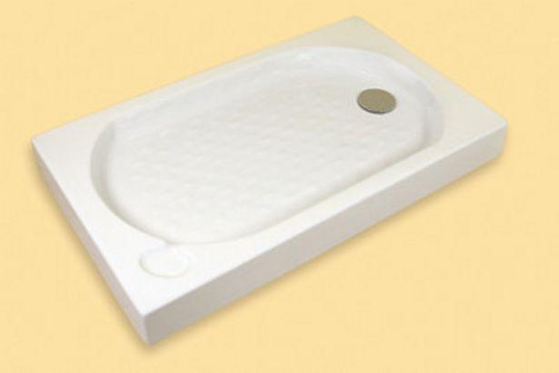 Oferta de Plato ducha rectangular GRAND 12x160x70 cm por 77,9€
