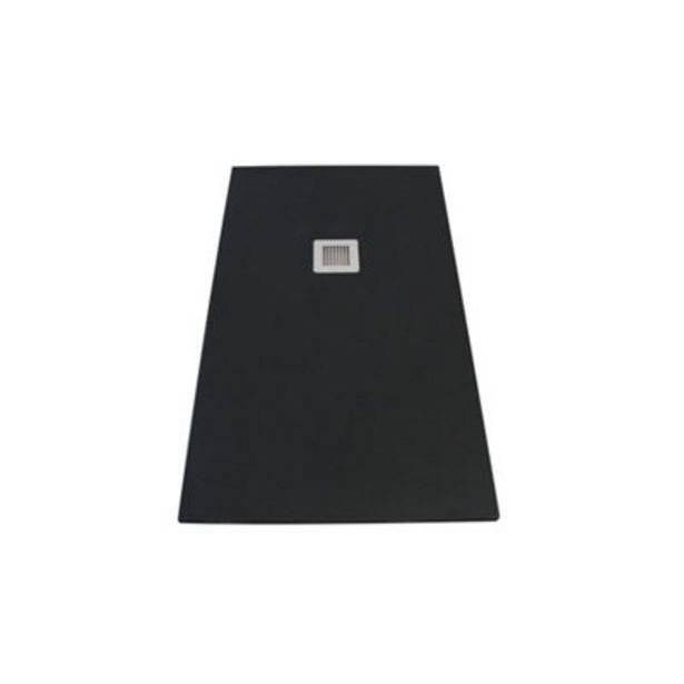 Oferta de Plato de ducha Moon 120x70 cm negro por 199,95€
