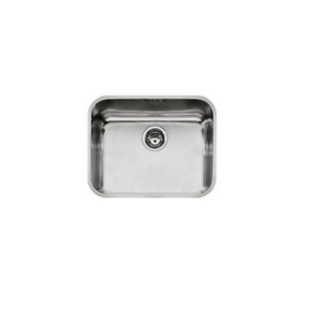 Oferta de Fregadero de acero inox rectangular MEPAMSA 1 60 x 60 cm por 66,9€