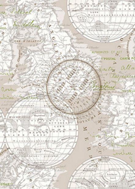 Oferta de Papel pintado TNT MAPS 0,68x10 metros por 36,9€