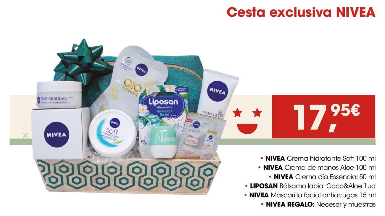 Oferta de Cesta exclusiva NIVEA por 17,95€