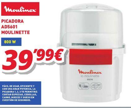 Oferta de Picadora Moulinex por 39,99€