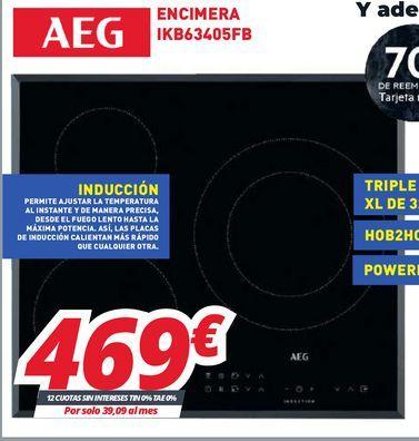Oferta de Encimera de cocina AEG por 469€