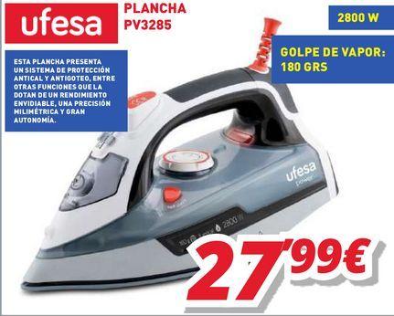 Oferta de Plancha Ufesa por 27,99€