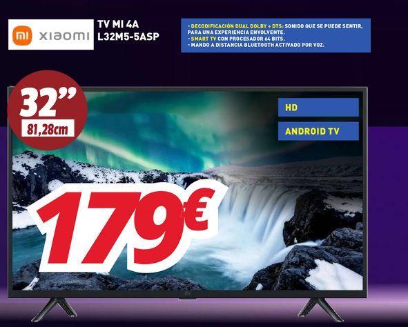 Oferta de Smart tv Xiaomi por 179€