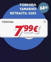 Oferta de Accesorios informática Toshiba por 7,99€