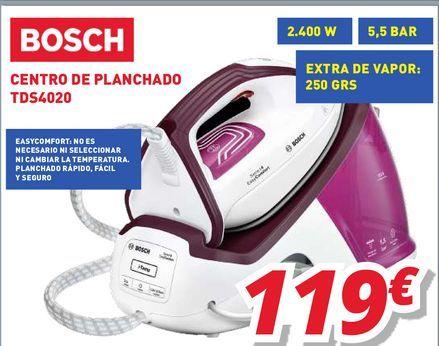 Oferta de Centro de planchado Bosch por 119€