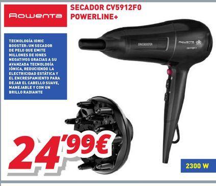 Oferta de Secador Rowenta por 24,99€
