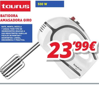 Oferta de Batidora Taurus por 23,99€