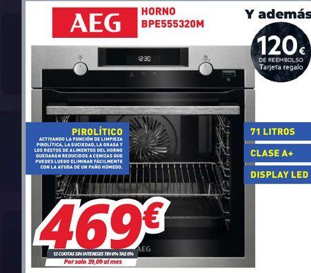 Oferta de Hornos AEG por 469€