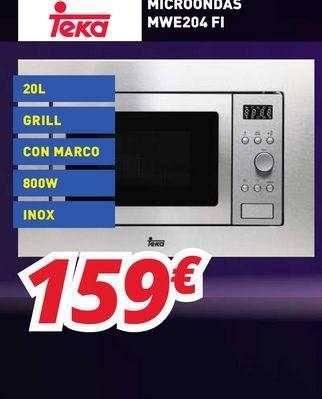 Oferta de Microondas Teka por 159€