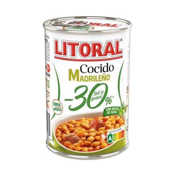 Oferta de Cocido madrileño -30% sal y grasas, 425g por 1,99€