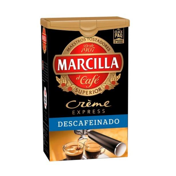 Oferta de Café molido descafeinado créme express, 250g por 3,29€