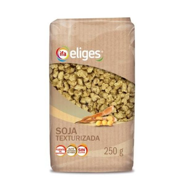 Oferta de Soja texturizada, 250g por 1,5€