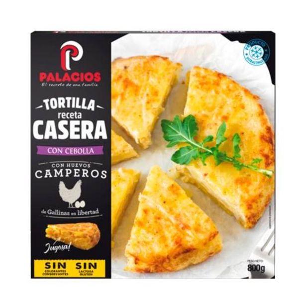 Oferta de Tortilla con cebolla y huevos camperos, 800g por 4,99€