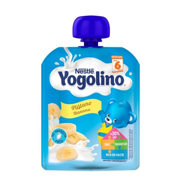 Oferta de Pouch plátano yogolino, 90g por 1,15€