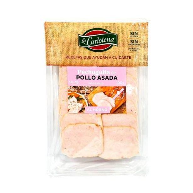 Oferta de Pechuguita de pollo asada al horno, 100g por 1,99€