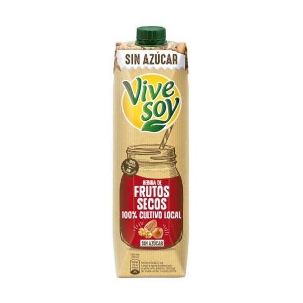 Oferta de Bebida frutos secos sin azúcar, 1l por 1,59€