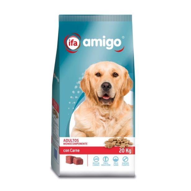Oferta de Comida perros carne, 20kg por 12,25€
