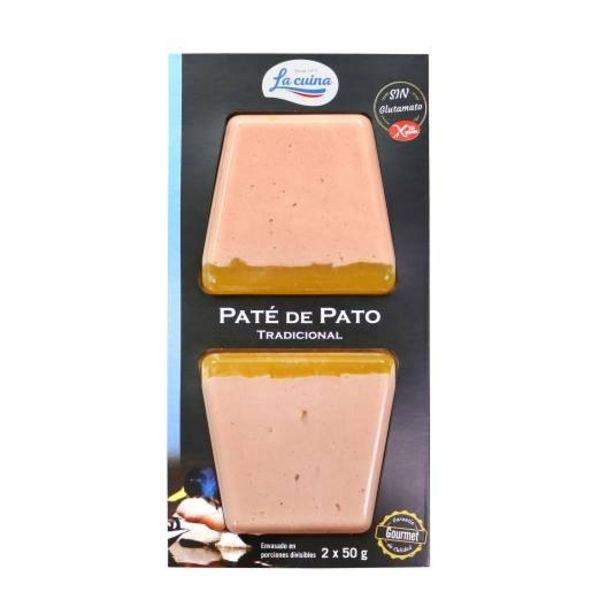 Oferta de Paté de pato 50g, pk-2 por 1,45€