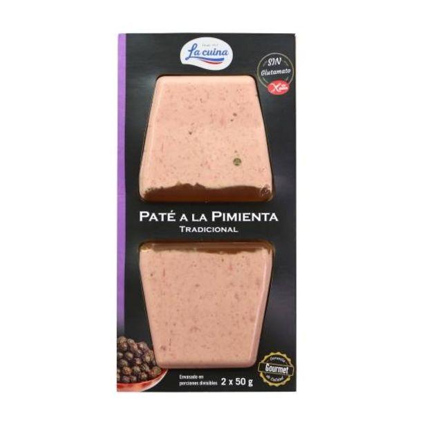 Oferta de Paté a la pimienta 50g, pk-2 por 1,29€
