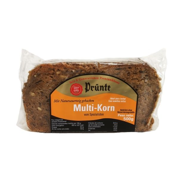 Oferta de Pan alemán integral centeno multicereal, 500g por 2,99€