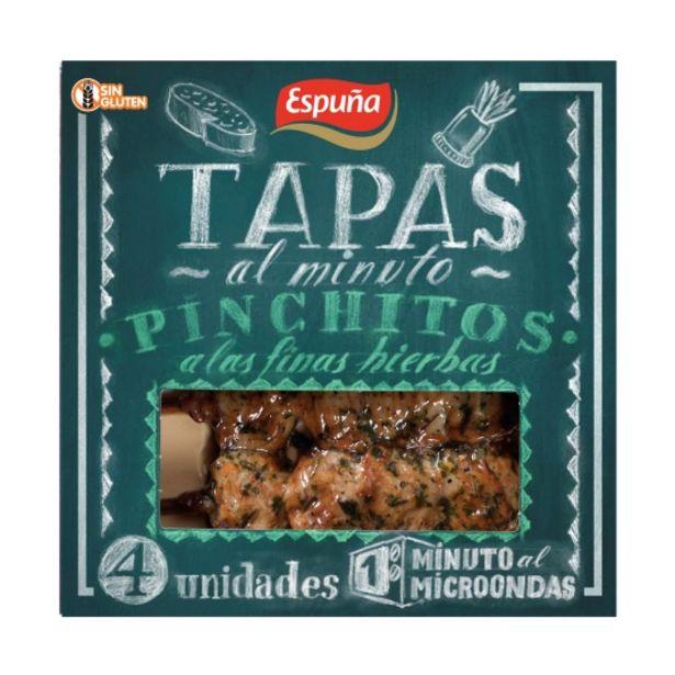 Oferta de Pinchitos a las finas hierbas tapas al m, 80g por 1,45€
