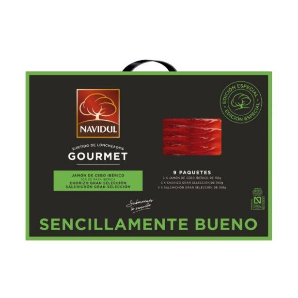 Oferta de Estuche surtido gourmet 9ud, 930g por 30€