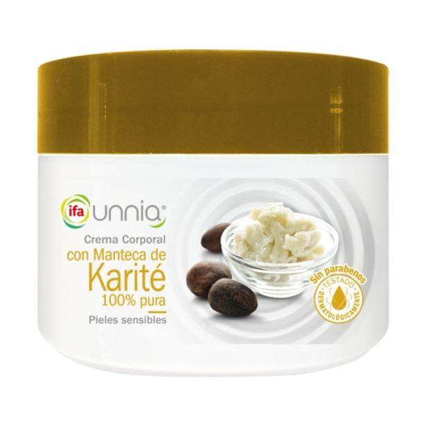 Oferta de Crema corporal karité, 250ml por 1,55€