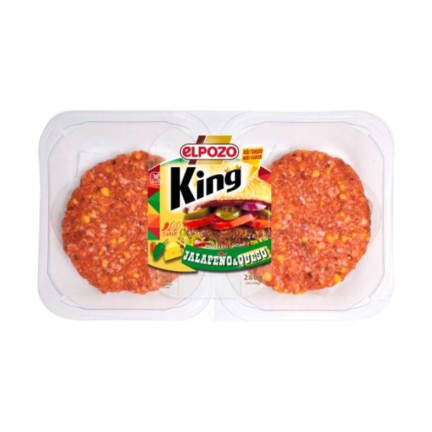 Oferta de Burguer mixta jalapeños/queso king, pk-2 por 2,3€